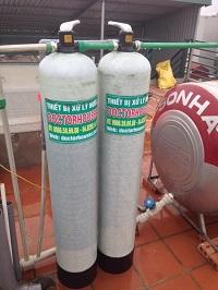 Thiết bị xử lý nước máy tại Thạch Bàn – Long Biên