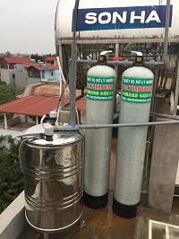 Xử lý nước giếng khoan tại Bắc Hồng – Đông Anh