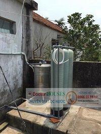 Thiết bị xử lý nước giếng khoan DHGK03 tại Hải Hậu – Nam Định