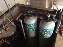 Xử lý nước giếng khoan tại nhà anh Giang – Kim Động – Hưng Yên