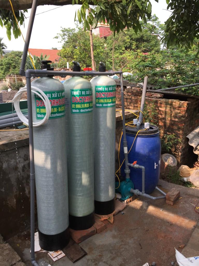 Thiết bị lọc nước giếng khoan sinh hoạt DHGK03C