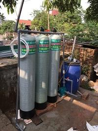 Thiết bị xử lý nước giếng khoan tại Kim Động – Hưng Yên