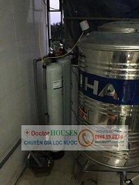 Lắp đặt thiết bị xử lý nước giếng khoan tại TP Hưng Yên
