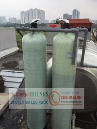 Thiết bị xử lý nước máy sinh hoạt tại Tựu Liệt – Thanh Trì