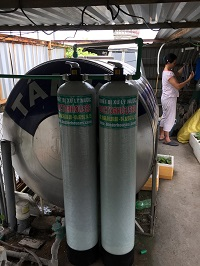 Thiết bị xử lý nước máy sinh hoạt tại Minh Khai