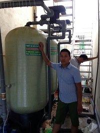 Hệ thống lọc nước giếng khoan công suất 150-180m3/ngày đêm
