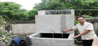 Cách khử sắt trong nước giếng khoan gia đình