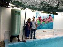 Xử lý nước giếng khoan tại bể bơi Thanh Quang – La Phù – Hoài Đức