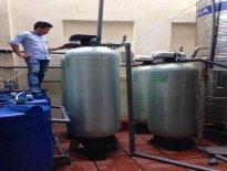 Lắp đặt hệ thống xử lý nước giếng khoan tại Bia Thu Hằng, 67 Ngô Thì Nhậm