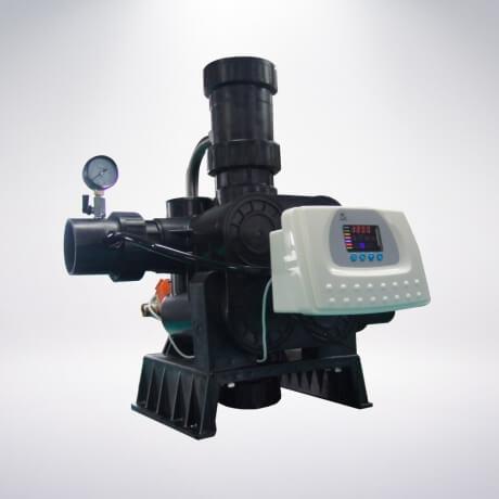 Van tự động sục rửa Runxin F78A3 (F112A3 – Tái sinh theo lưu lượng)
