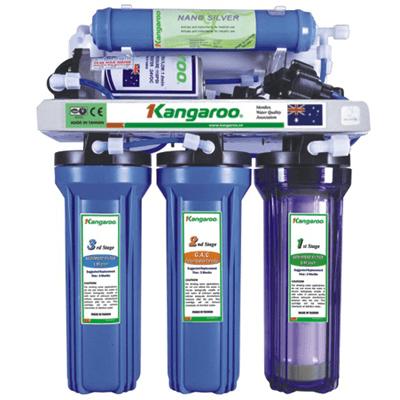 Máy lọc nước RO Kangaroo KG105KV 5 lõi không vỏ tủ