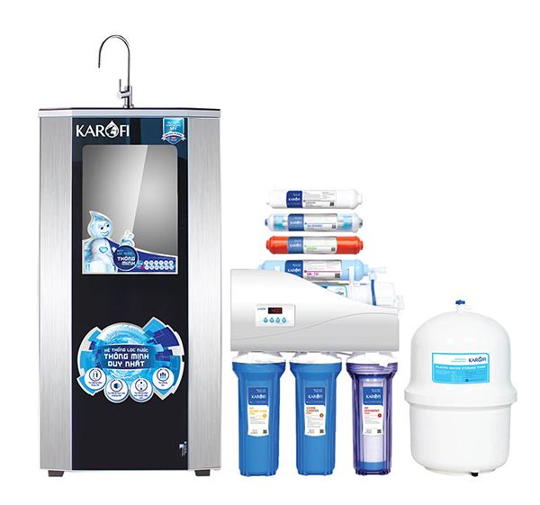 Máy lọc nước Karofi thông minh iRO 2.0 có 8 cấp