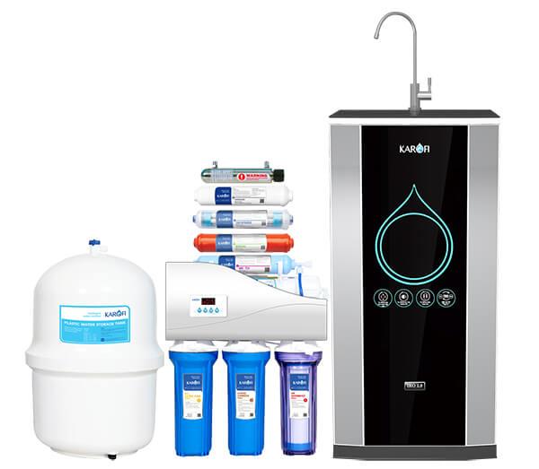 Máy lọc nước Karofi thông minh iRO 2.0 có 9 cấp lọc