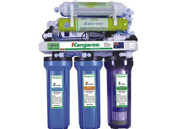 Máy lọc nước RO Kangaroo KG107KV không vỏ tủ