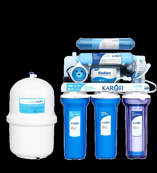 Máy lọc nước RO Karofi 6 cấp lọc KT60A
