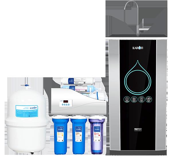 Máy lọc nước Karofi thông minh iRO 2.0 có 6 cấp lọc