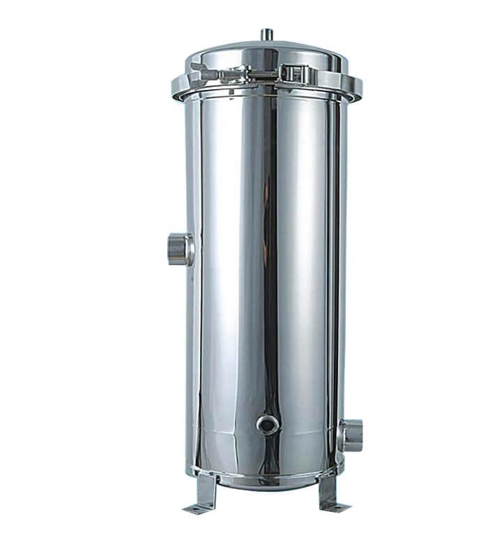 Phin lọc nước inox chứa 3 lõi 20 inch