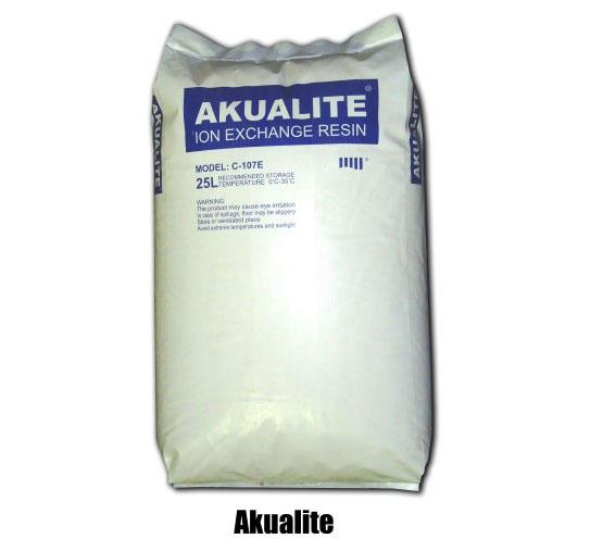 Hạt nhựa trao đổi ion Akualite C107E