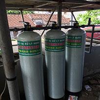 Xử lý nước máy nhiễm sắt, canxi, mangan, asen tại Tân Triều, Thanh Trì