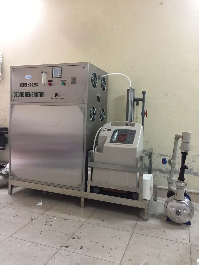Máy ozone công nghiệp OM-Z120S công suất 120g/h