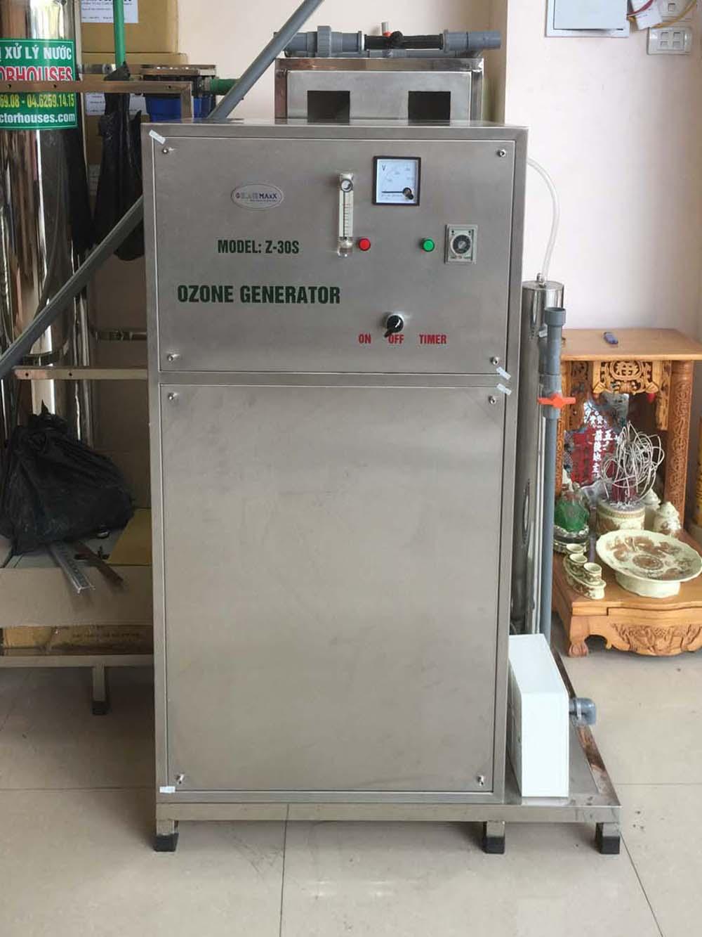 Máy tạo khí ozone công nghiệp OM-Z30 công suất 30g/h