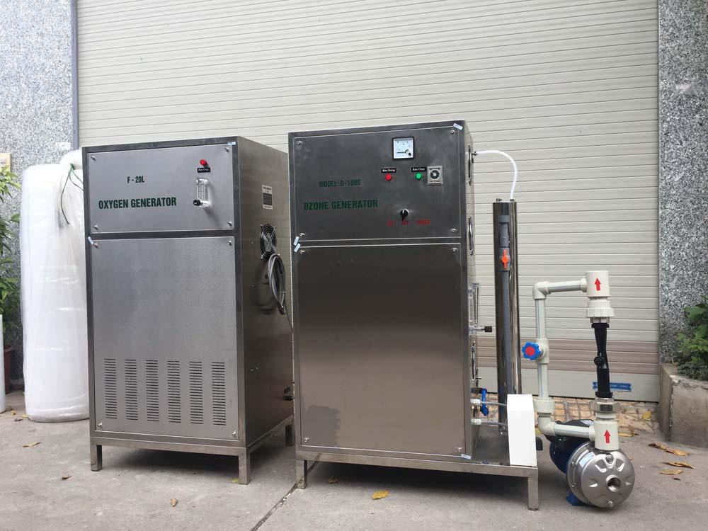 Máy ozone công nghiệp OM-Z50S – OM-Z100S công suất 50g/h – 100g/h