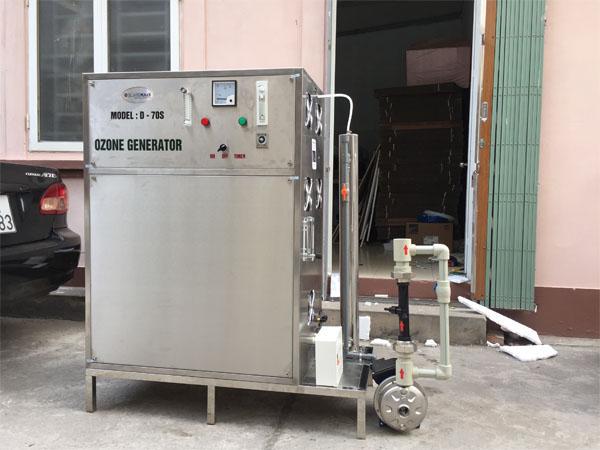 Máy ozone công nghiệp công suất 70g/h (OM-Z70s)