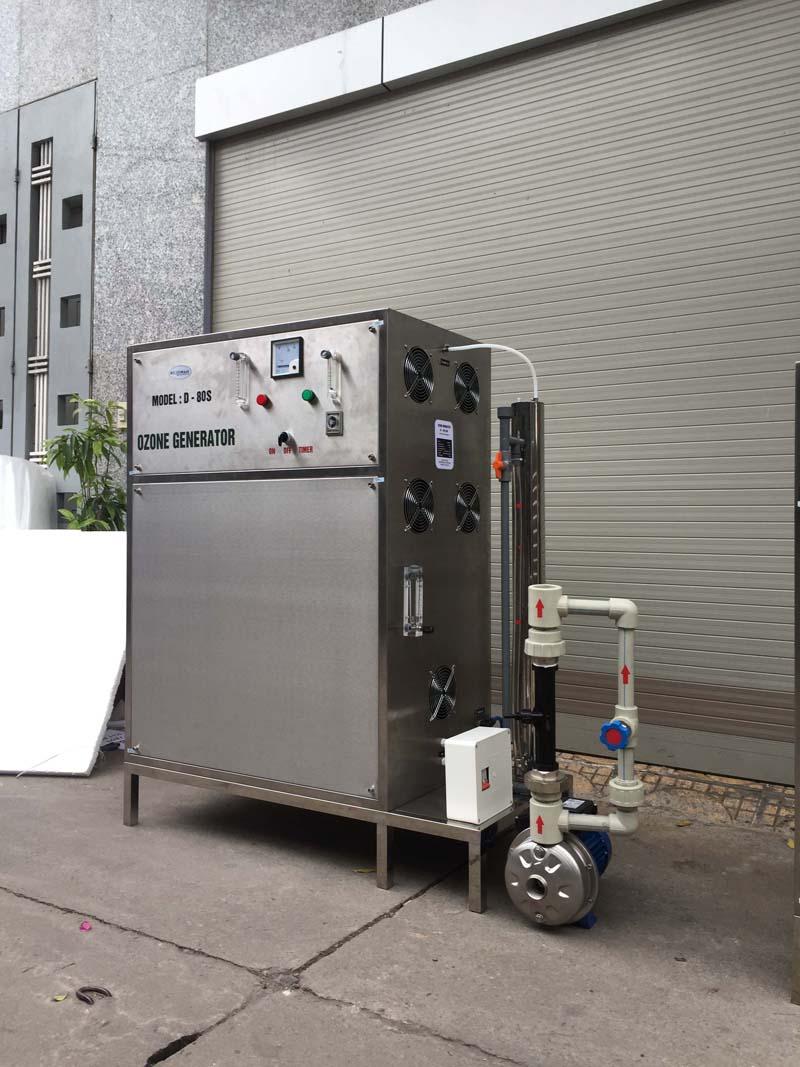 Máy tạo khí ozone công nghiệp OM – Z80 công suất 80g/h