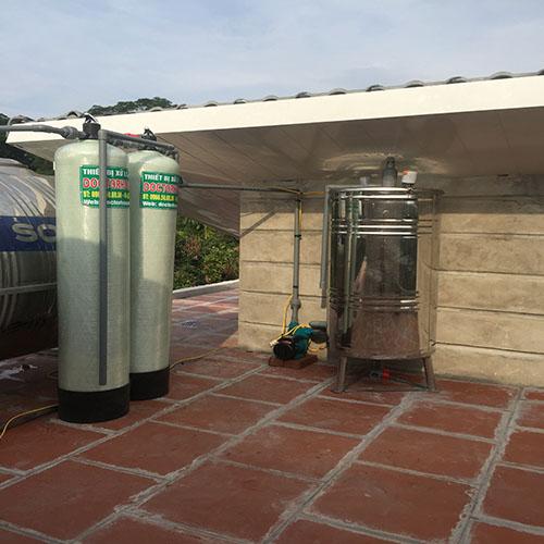 Báo giá thiết bị lọc nước giếng khoan gia đình DoctorHouses