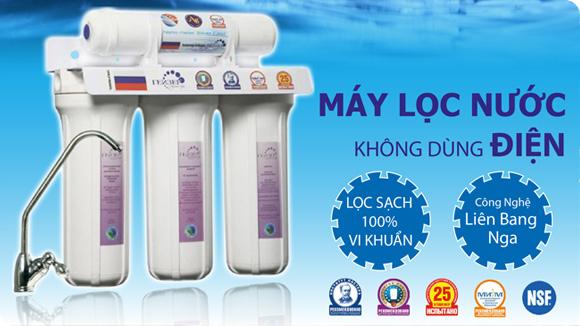 Trung tâm bảo hành máy lọc nước NANO Geyser LB Nga tại Việt Nam