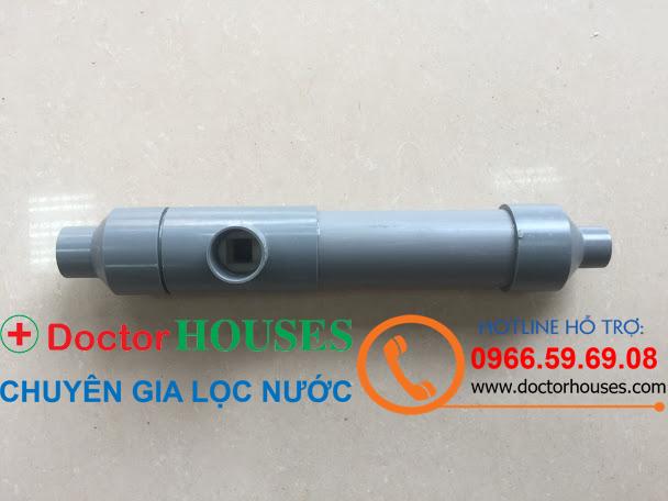 Bộ trộn khí Ejector(thay thế giàn mưa lọc nước giếng khoan)