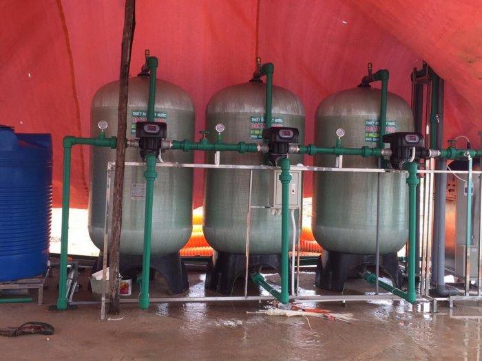 Lọc nước công suất lớn cho trường học