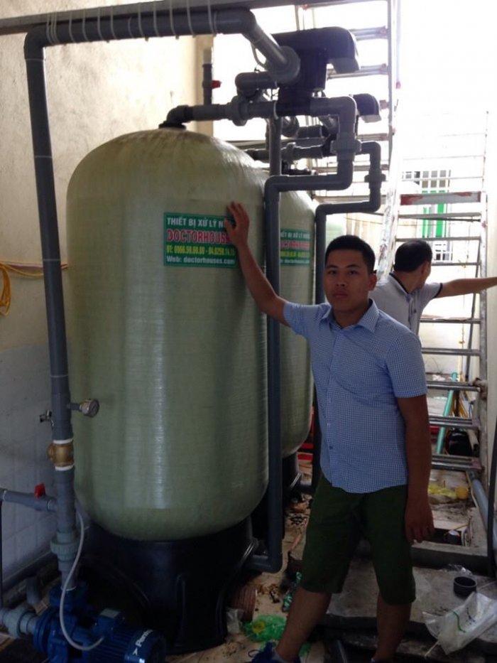 Lọc nước công suất lớn cho khách sạn