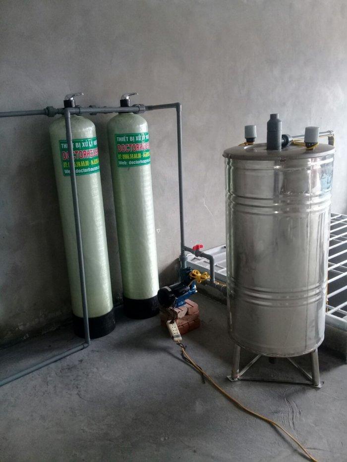 Lọc nước giếng khoan xử lý sắt, asen lọc trong khử mùi