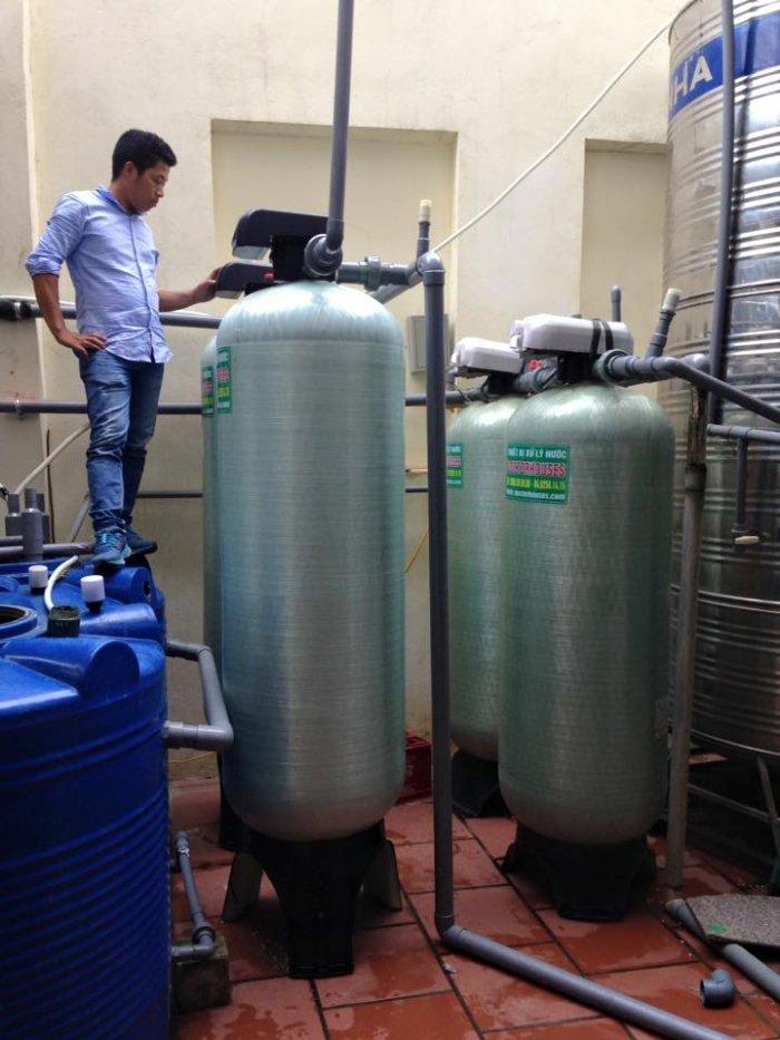 Lọc nước công suất lớn cho nhà hàng