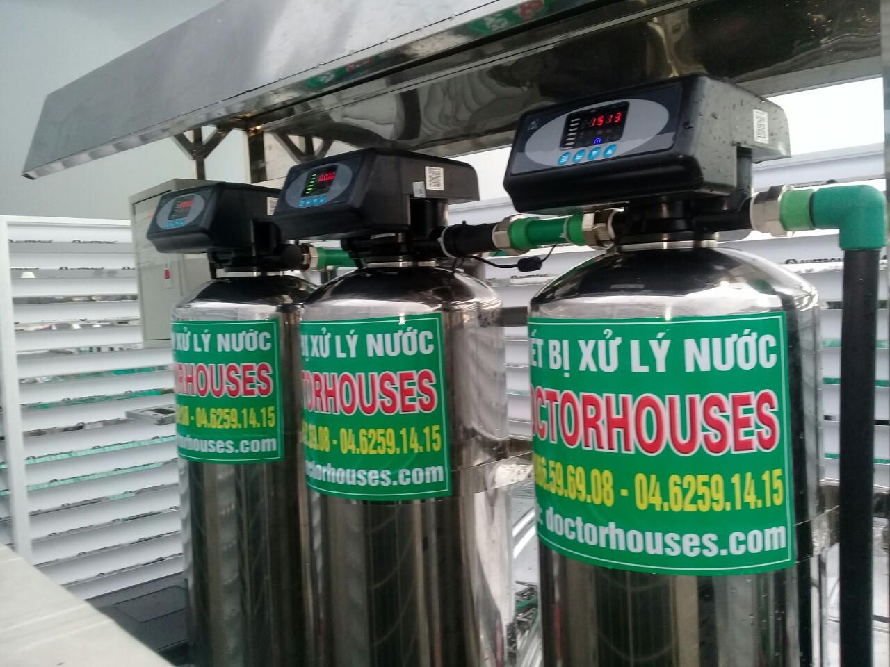 Lắp đặt hệ thống lọc nước tổng sinh hoạt cao cấp DH03C tại Vinhome