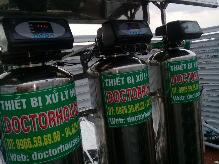 Bộ lọc nước sinh hoạt cột lọc inox 304 cao cấp