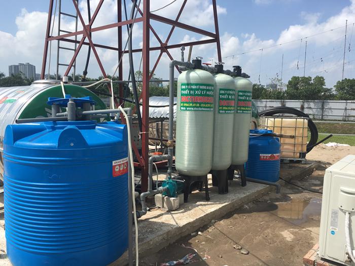 Hệ thống lọc nước giếng công nghiệp