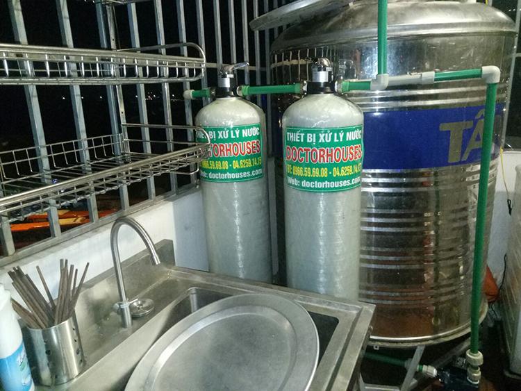 Công trình lọc nước sinh hoạt tại Trường Mầm Non Ngôi Sao Thanh Trì, Hà Nội