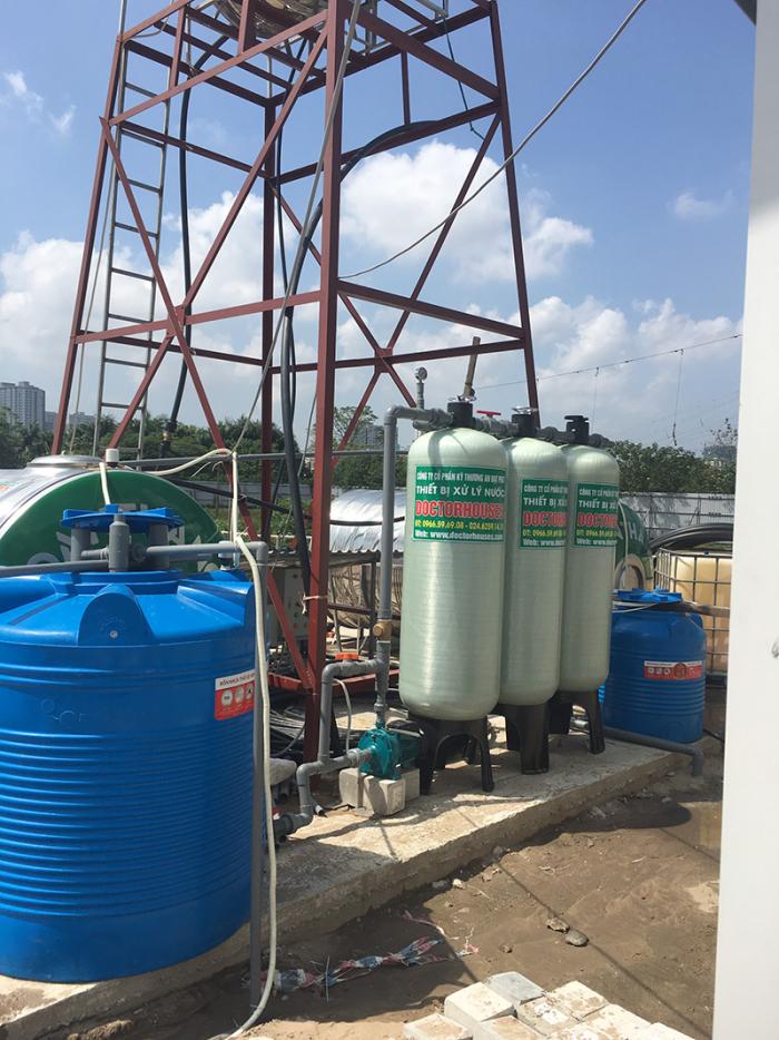 Bộ lọc nước giếng công nghiệp công suất lớn