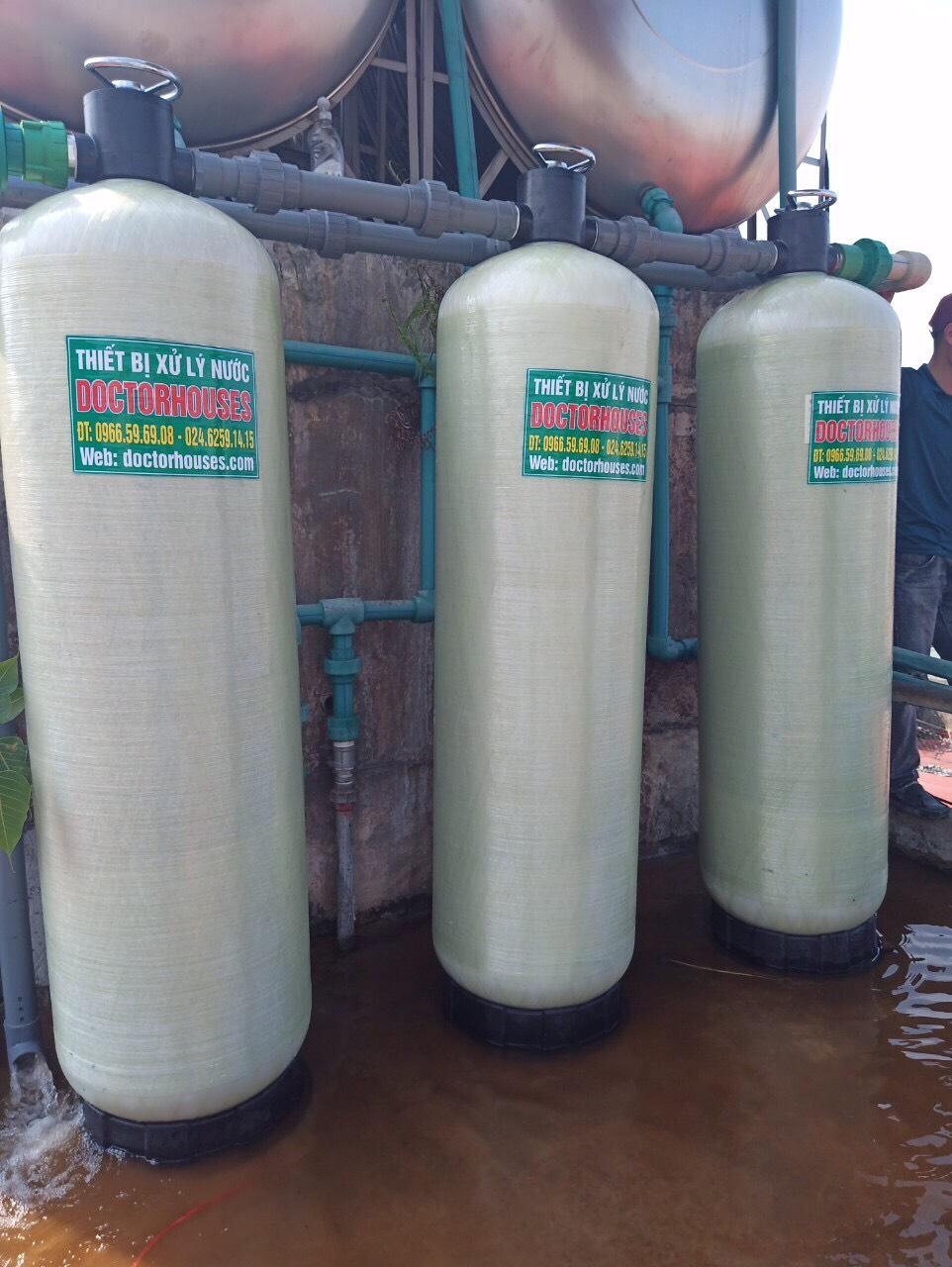 Lắp đặt hệ thống lọc tổng nước máy công nghiệp công suất 5m3/h