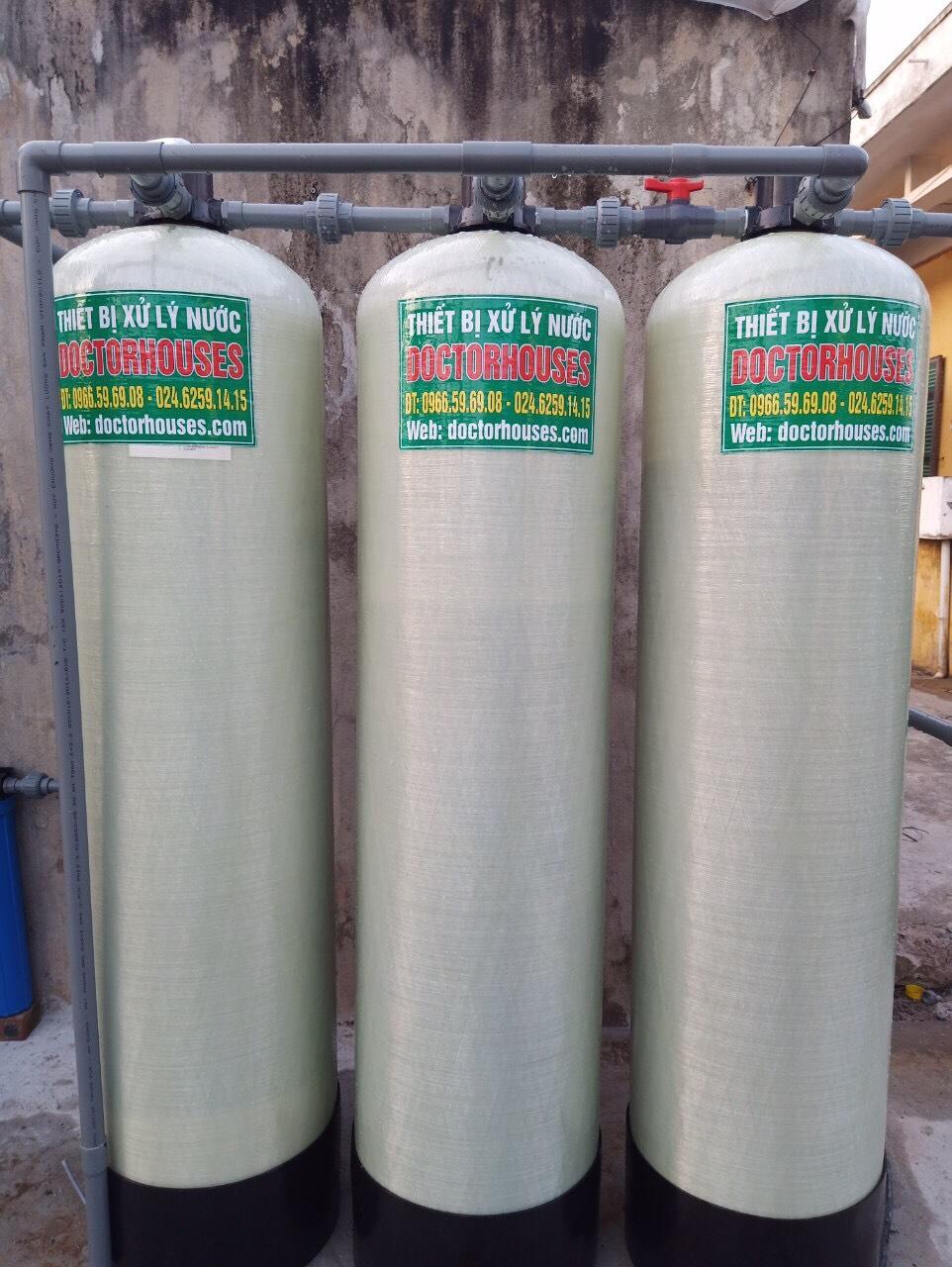 Công trình xử lý nước giếng khoan tại Đồn biên phòng Hải Hậu Nam Định