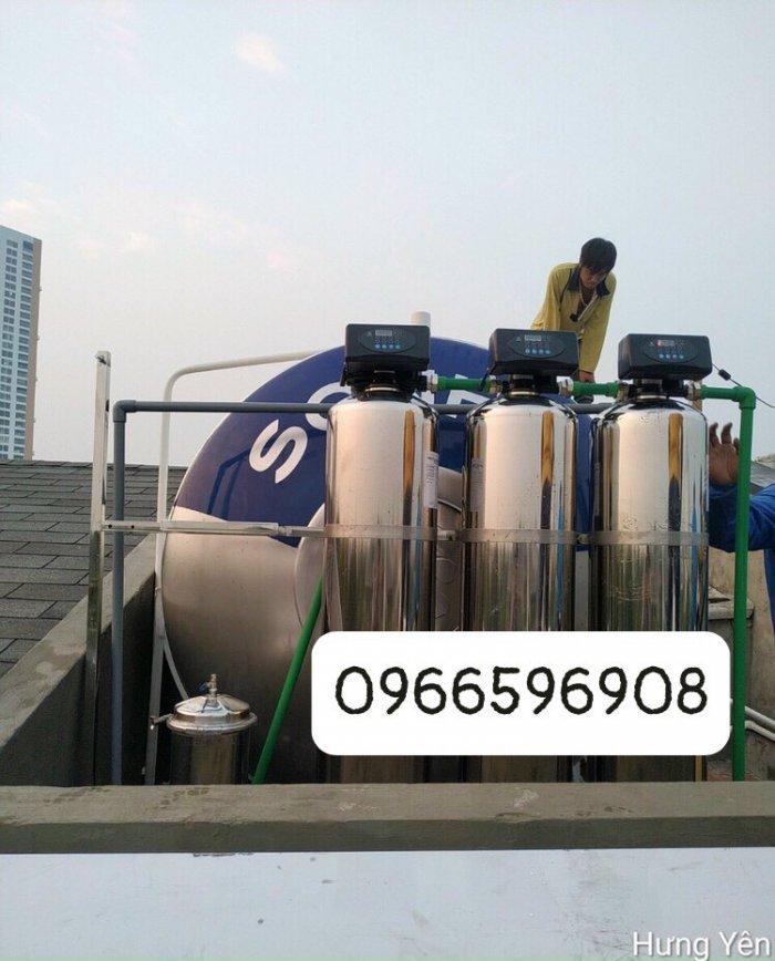Lắp đặt hệ thống lọc tổng biệt thự tại Ecopark Hưng Yên
